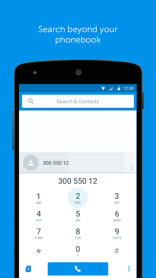 Screenshots of Truedialer - Phone & Contacts for Android