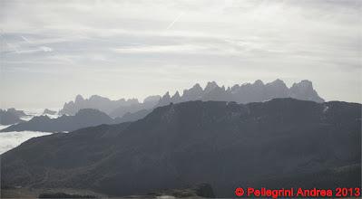 Photo: Panorama 6 Pale di San Martino dal Passo Le Selle