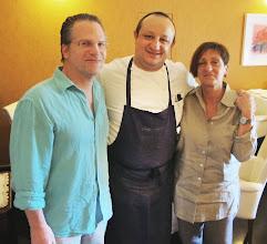 Photo: WIth Cicio, the chef, Duomo, Ragusa