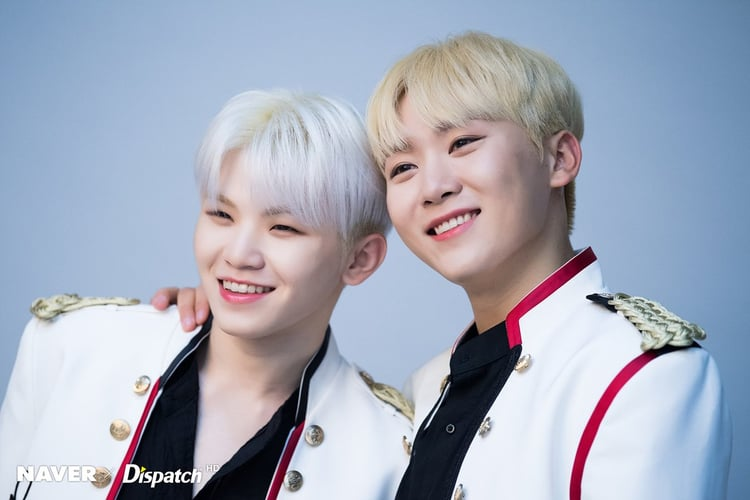 SEVENTEEN Woozi and Seungkwan