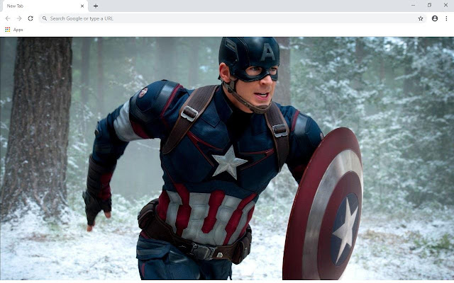 Captain America Movie Wallpapers and New Tab
