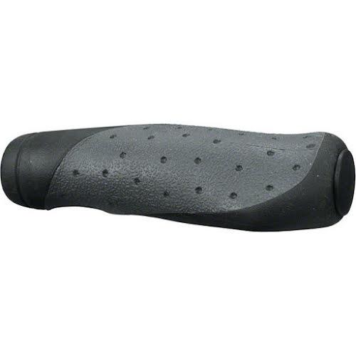Velo Handlz-D2W Ergo Mountain Grips: Gray/Black