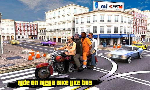 Bike Bus Driving in the Big City - náhled