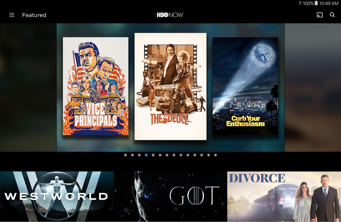 HBO NOW: Stream TV & Movies- screenshot