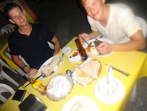 Photo: Po vyplážovanym dni pořádná mexická večeře.