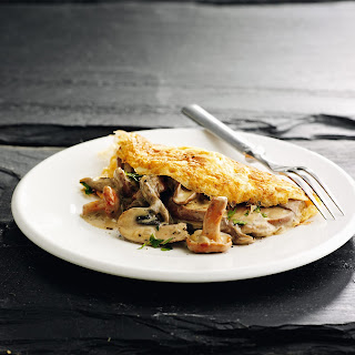 Keto Mushroom Omelet.