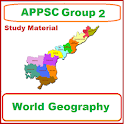 APPSC Group 2 World Geography icon