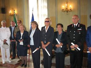 Photo: Carmen Spigno e i neo nominati Cavalieri dell'O.M.R.I.