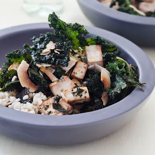 Crispy Kale-and-Tofu Salad with Coconut Recipe