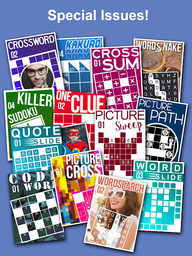 Puzzle Page - Crossword, Sudoku, Picross and more screenshots 11