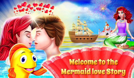 Mermaid & Prince Rescue Love Story 1