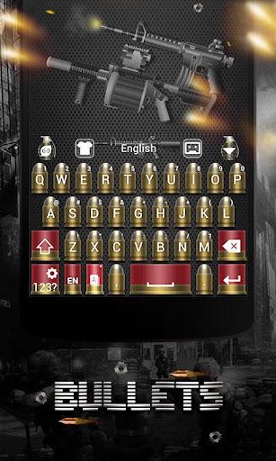 Bullets Keyboard Theme Emoji