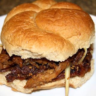 Vegan Bulgogi Sandwich.
