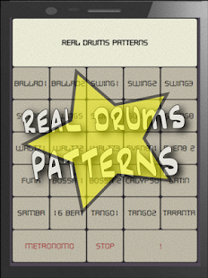Real Drums Patterns (Live Metronome)- screenshot thumbnail