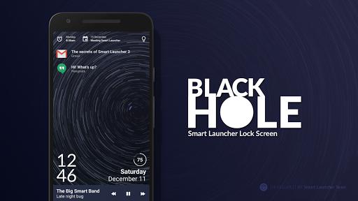 Black Hole - Lock screen 5.4.24 screenshots 1