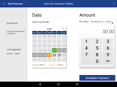 Kirtland FCU Mobile Banking screenshot 8