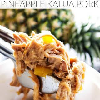 Slow Cooker Pineapple Kalua Pork.