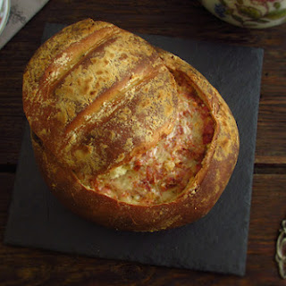 Bread stuffed of Aunt Lurdes