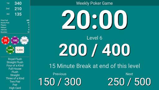 Blinds Are Up! Poker Timer filehippodl screenshot 7