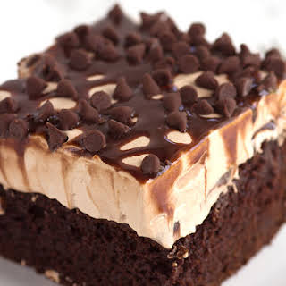 Chocolate Poke Cake.