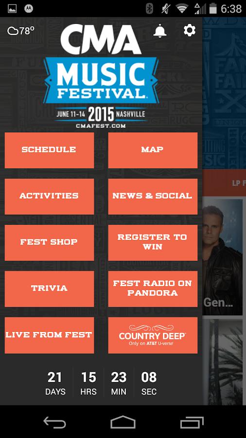 2015 CMA Music Festival- screenshot