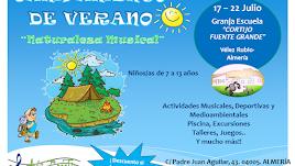Campamento de Verano 2018 de Aula Creativa de Música en Vélez Rubio.