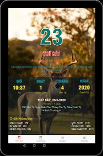 Download Lịch vạn niên 2020 - Lịch Việt & Lịch âm For PC Windows and Mac apk screenshot 9