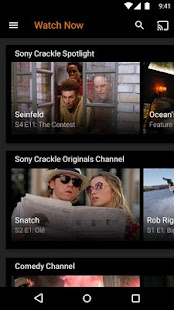 Sony Crackle – Free TV & Movies Capture d'écran