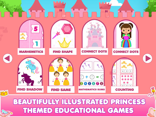 Princess Doll House Cleanup & Decoration Games screenshots 10