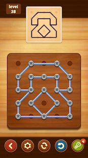 Line Puzzle: String Art poster