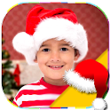 Christmas Hat And Edit photos icon