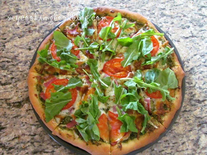 Пица с песто