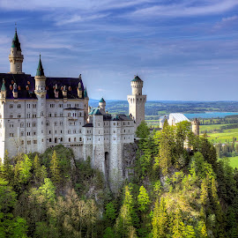 The Fairytale Palace by Elk Baiter - Buildings & Architecture Public & Historical ( castle, bavaria, germany, neuschwanstein,  )