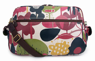 Wild Floral Baby Changing Bag