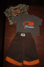Photo: Size SMALL banded Fleece Shorties with EXTRA layer of fleece inside. 0-3 months T-shirts. These Shorties are made by me and are the Little Comet Tails Pattern. I use the Home Sew License and am not selling these for a profit,  I made them for my sons. $16ppd for all you see here.
