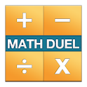 Math Duel - 2 Player Math Game icon