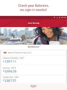 Bank of America Mobile Banking Screenshot 11