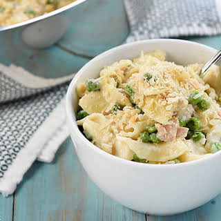 Stovetop Tuna Noodle Casserole Skillet.