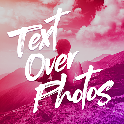 Text Over Photo Icon