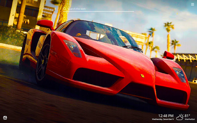Need for Speed HD Wallpapers New Tab Theme