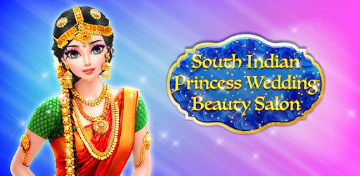 South Indian Bride Wedding Salon Dress Up Makeup Apps On Google Play