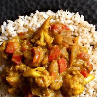 African Veg Curry.