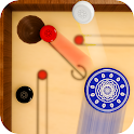 Mini Carrom Board: King Of Pool Games icon