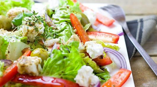 La receta más deliciosa de ensalada templada de pollo y berenjena