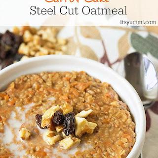 Carrot Cake Steel Cut Oatmeal