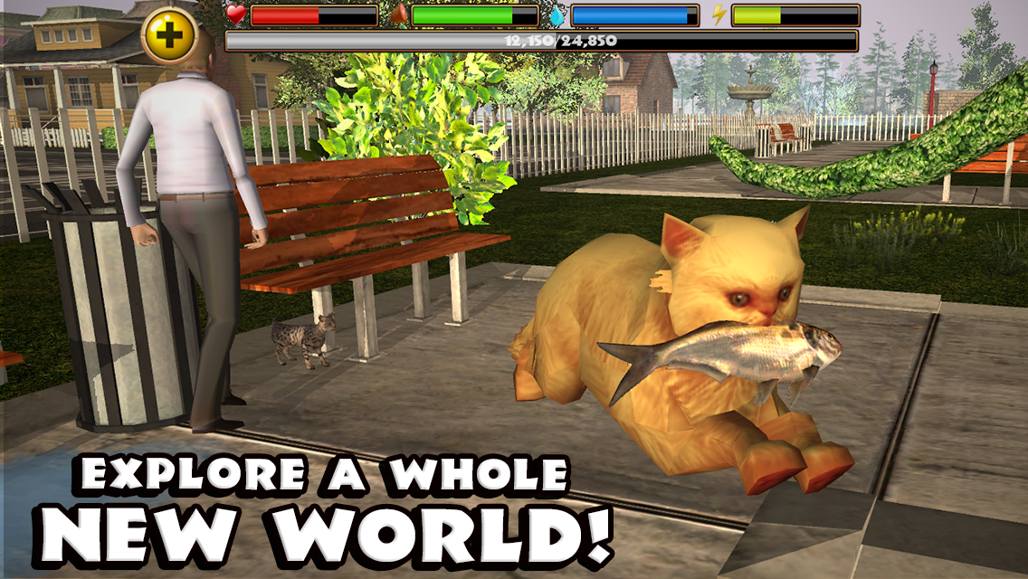 Stray Cat Simulator- screenshot