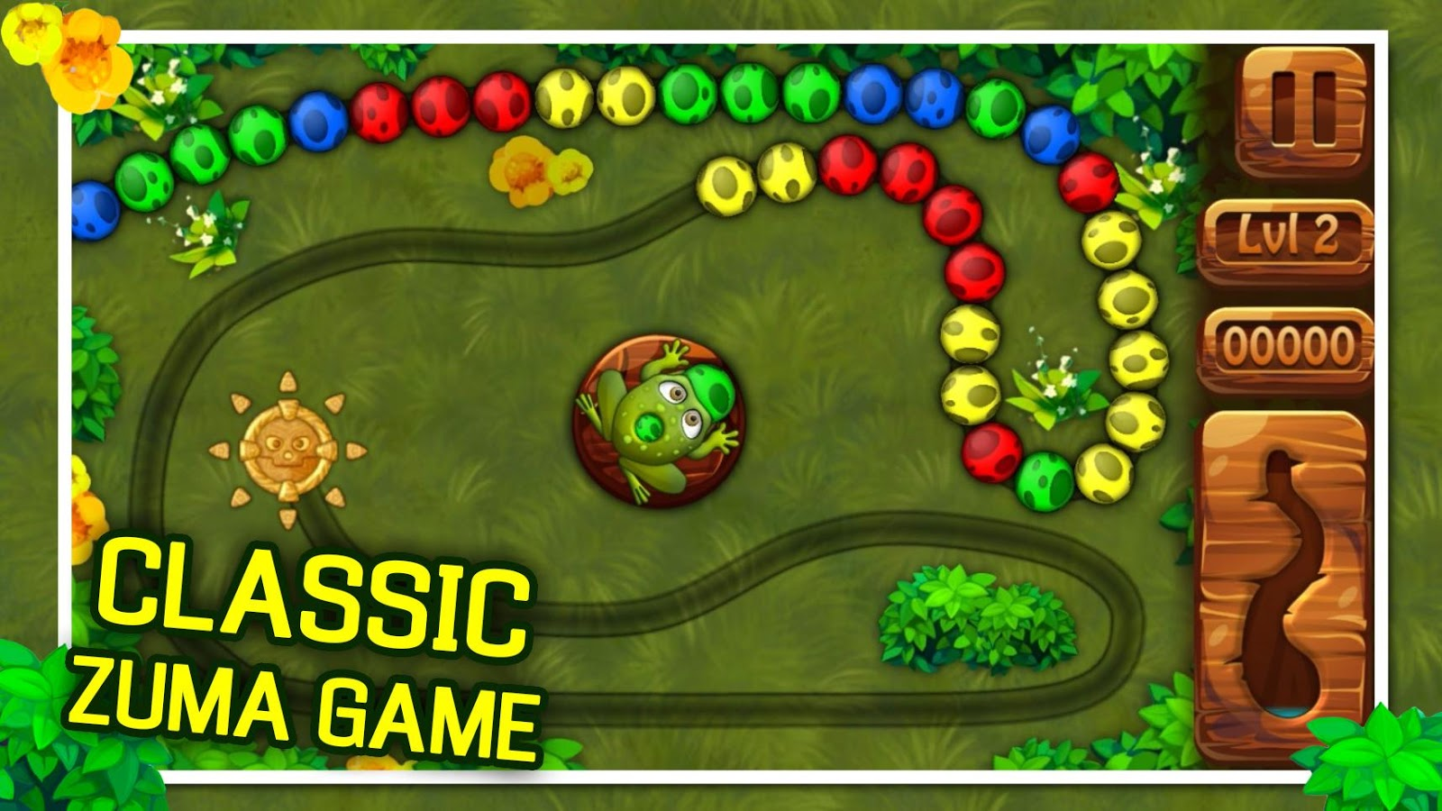 Color zuma game - Frog Ball Shooter Quest Screenshot