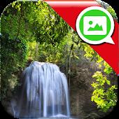 Waterfall Messenger Wallpaper