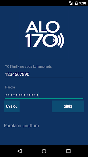 ALO170 İletişim Merkezi