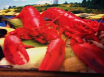 Lobster Omelet....living On The Wild Side! Recipe